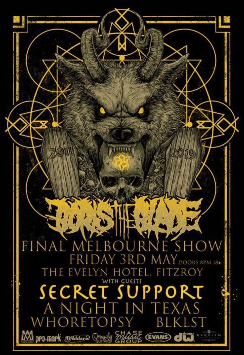 boris the blade final show
