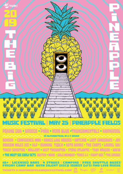 BIG-PINEAPPLE-2019_LINEUP POSTER