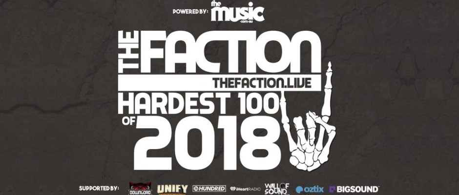 the faction hardest 100 countdown vote