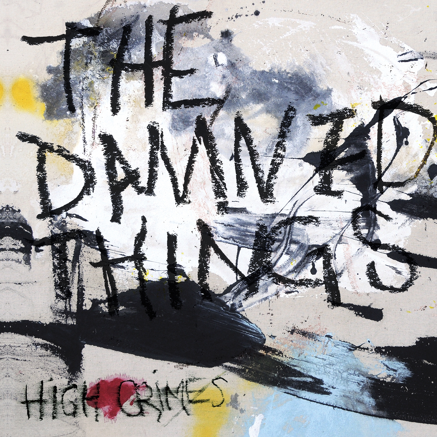 The Damned Things – High Crimes – Artwork