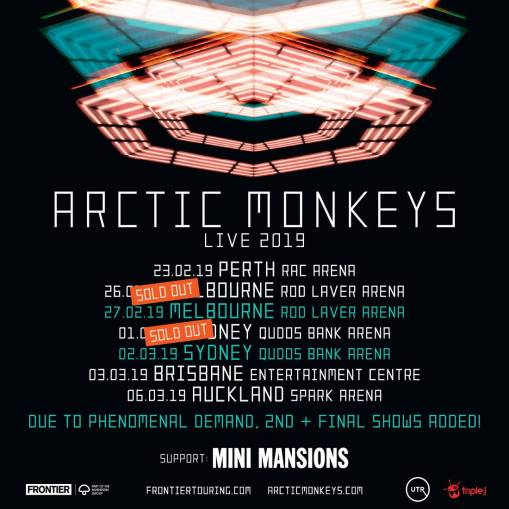 arctic monkeys tour