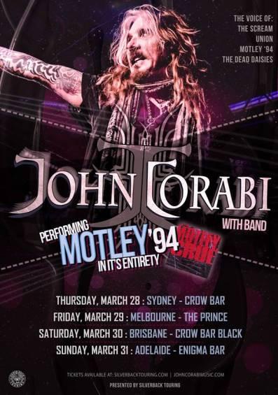 John Corabi - Australian Tour