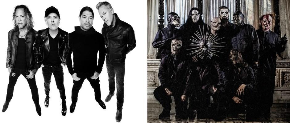 Metallica sSipknot Australian tour
