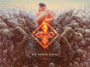 red handed denial - redeemer album cover