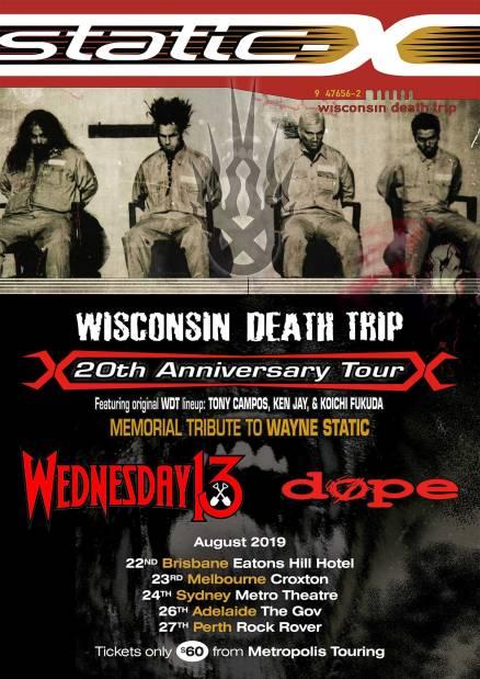 static x tour