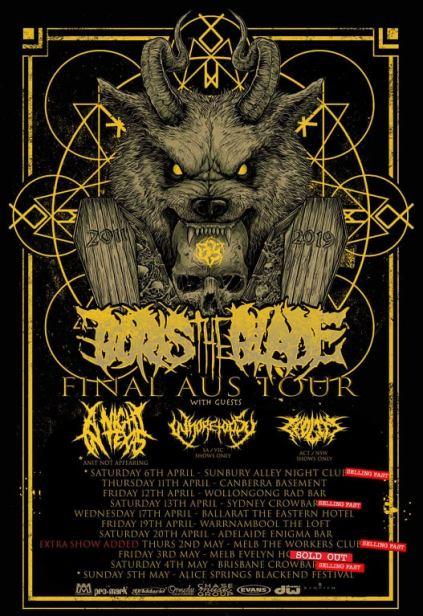 boris the blade tour