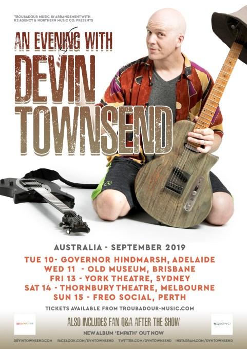 devin townsend tour
