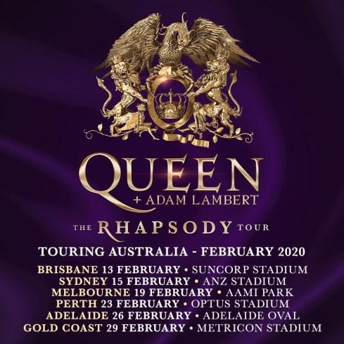 queen tour 2020