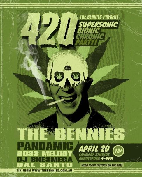the bennies 420
