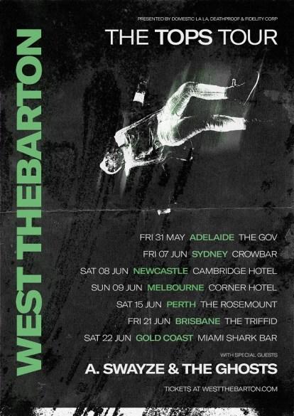 west thebarton tops tour