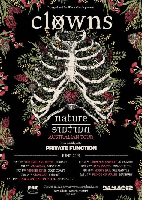 clowns nature/nurture tour