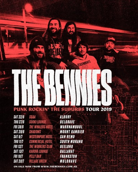 bennies punk rockin tour