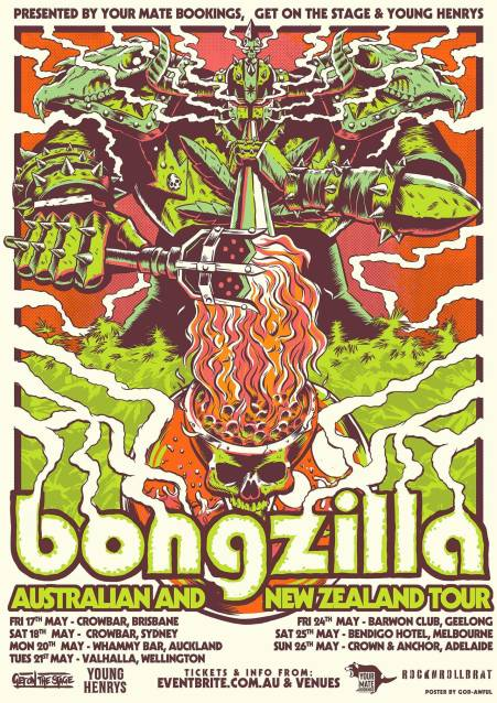bongzilla tour