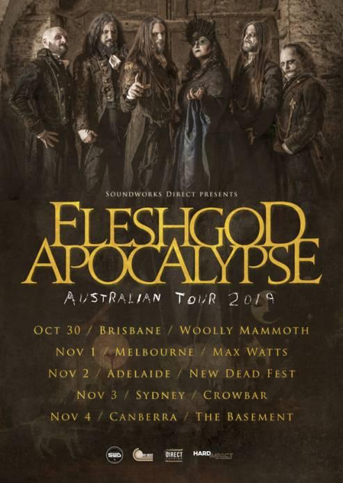 fleshgod tour
