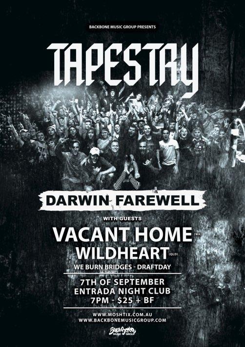 tapestry farewell darwin show