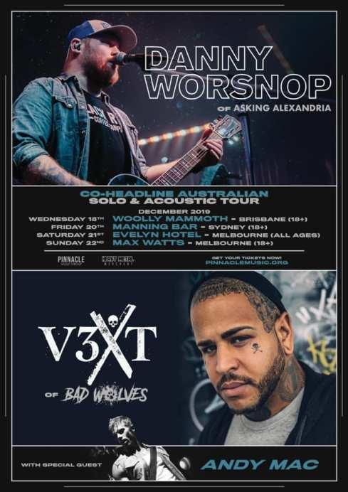 danny vext tour