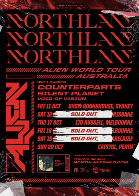 northlane aus tour
