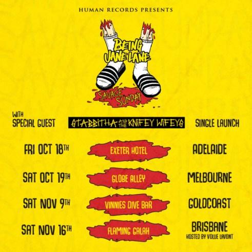BJL Savage Sunday tour