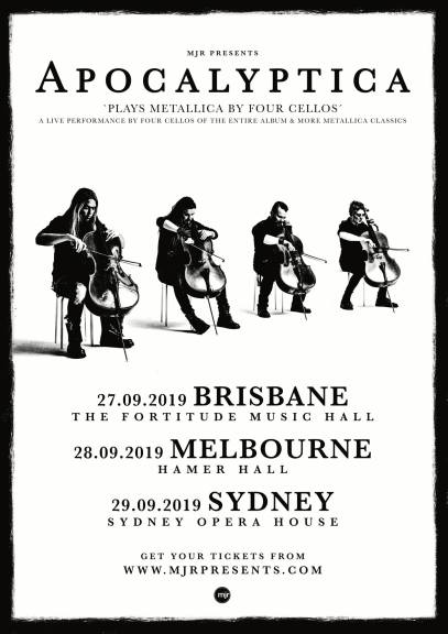 apocalyptica tour