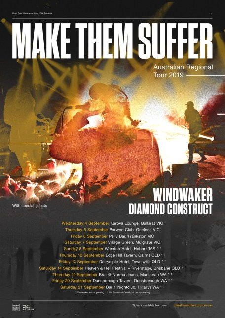 make them suffer regional tour