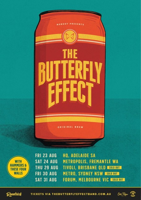 butterfly effect tour 2019