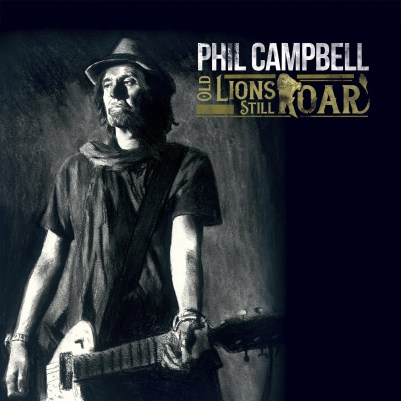 Phil Campbell - Old Lions Still Roar - Artwork