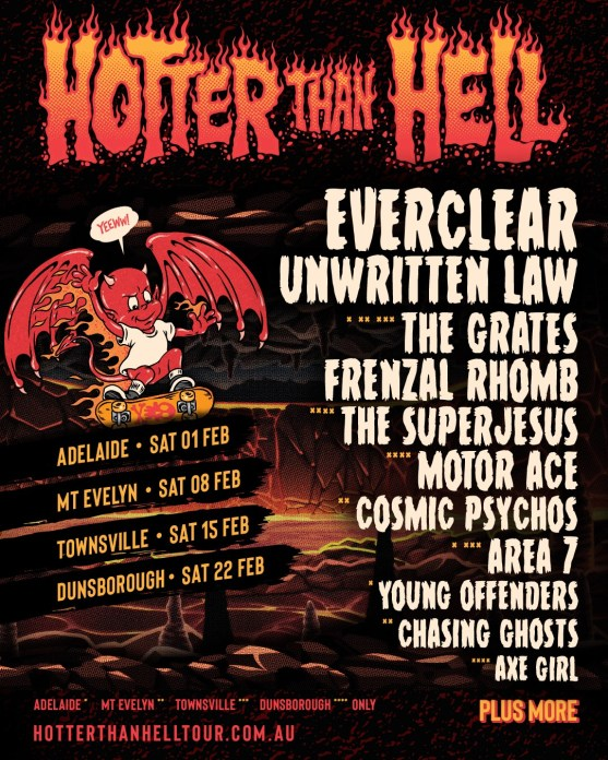 hotter than hell 3 poster