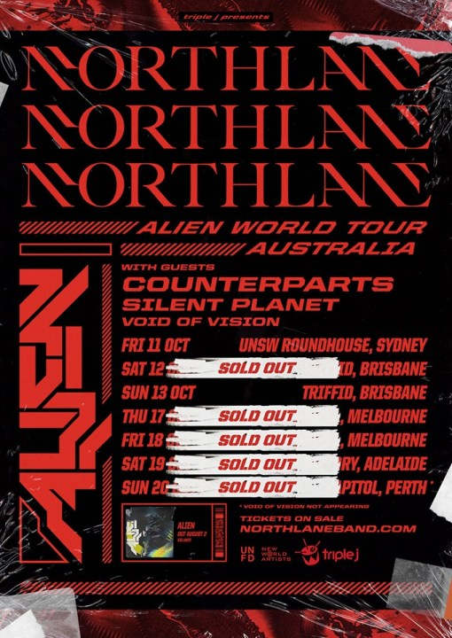northlane tour