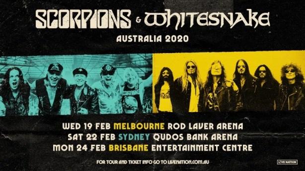 Scorpions + Whitesnake Announce 2020 East Coast Tour ...