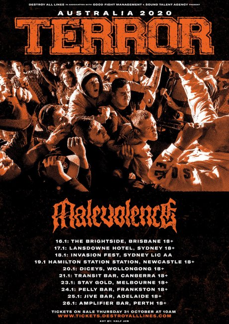 terror malevolence tour