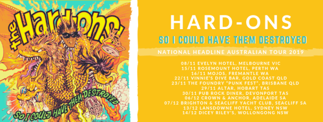 hard ons tour