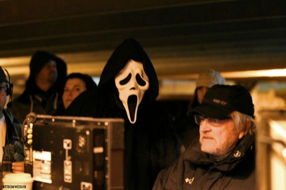 wes craven ghostface