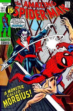 morbius comic