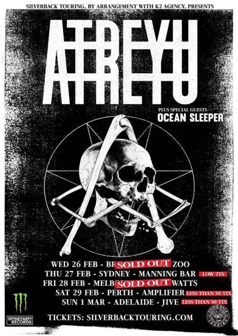 atreyu poster