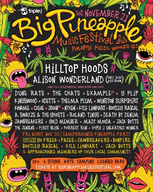 big pineapple fest