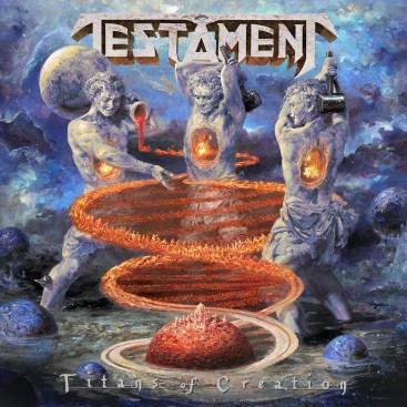Testament - Titans Of Creation - Artwork