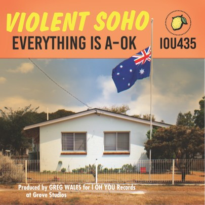 violent soho - everything is a-ok album