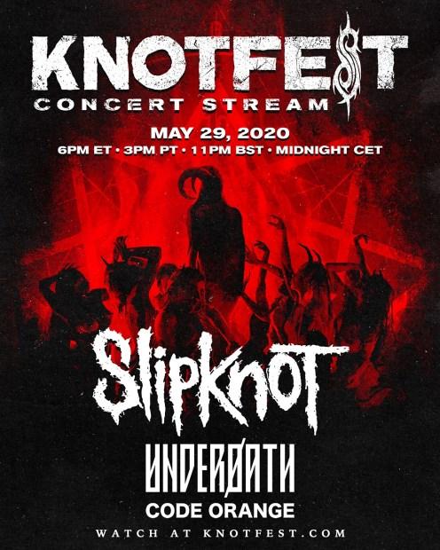 knotfest stream