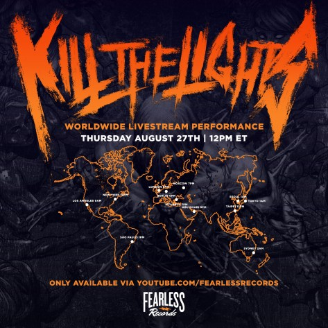 kill the lights live stream