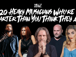 20 Heavy Musicians Who Are Smart