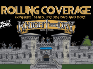 knight and day festival poster