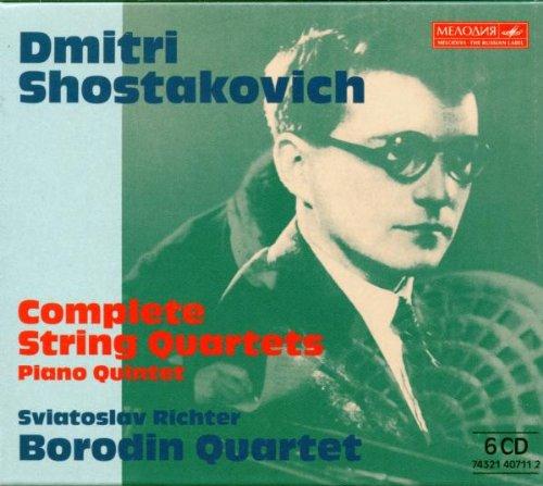 SHOSTAKOVICH, Dmitri (1906-1975) Quatuor n°3 en Fa majeur (Op. 73) par le Quatuor Borodin