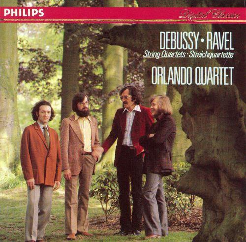 DEBUSSY, Achille-Claude (1862-1918) Quatuor à cordes en sol mineur : Andantino, doucement expressif (Op. 10) par le Quatuor Orlando