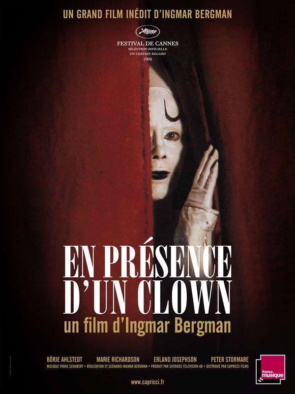 BERGMAN, Ingmar Larmar och gör sig till (En présence d'un clown, tv-film, 1997)