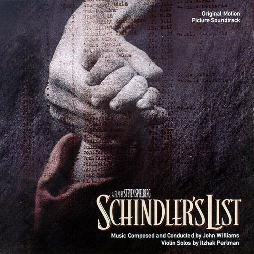 WILLIAMS, John (né en 1932) La liste de Schindler : thème principal dirigé par John WILLIAMS avec Itzhak PERLMAN