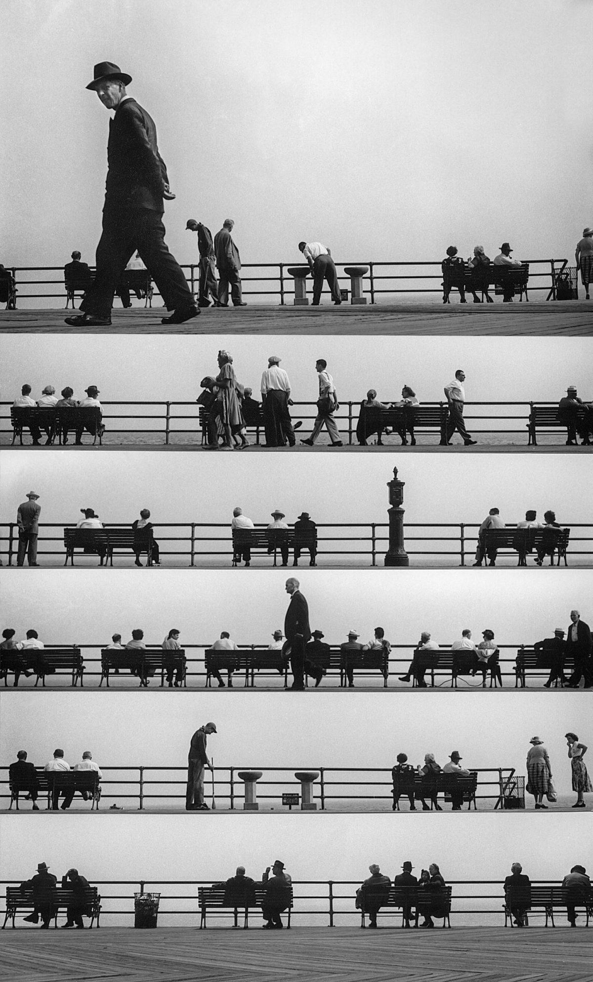 FEINSTEIN : Boardwalk Sheet Music Montage (Coney Island, 1952)