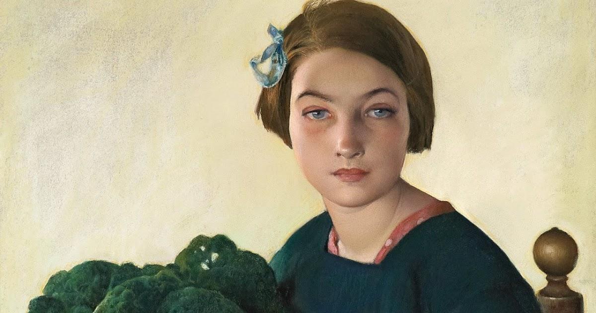 BAES : La petite fille au chou (1903)