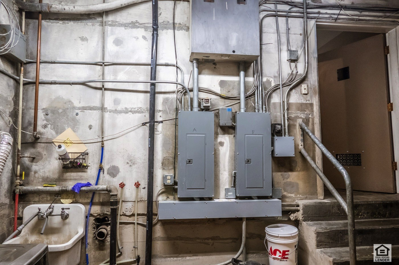 Upgraded electrical and upgraded HVAC