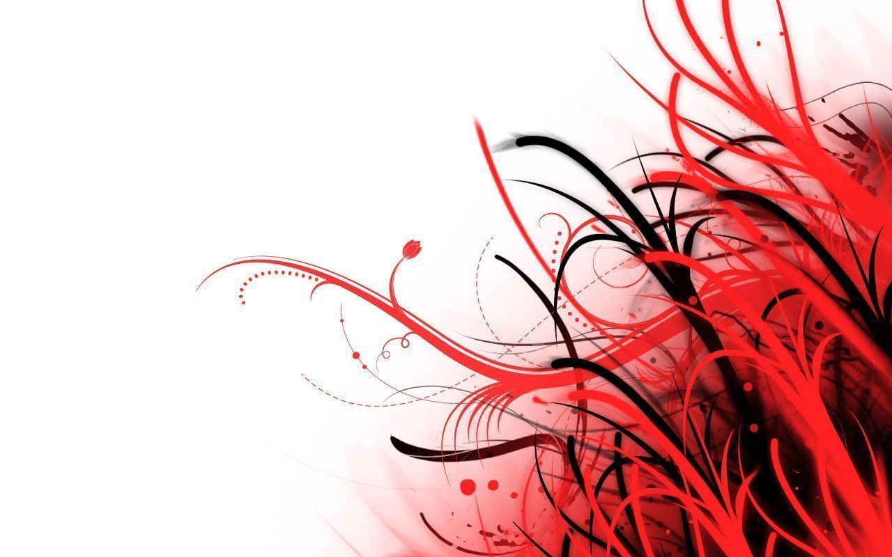 Red And White Abstract Wallpapers Group 68
