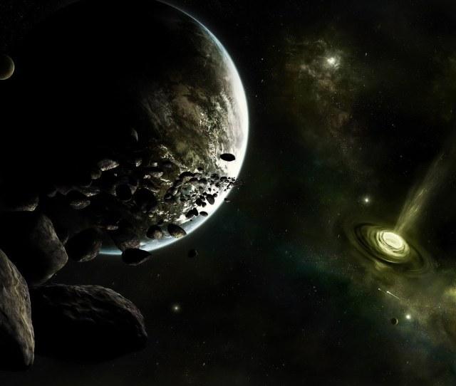 Hd Digital Art Of Universe And Planets X Desktop